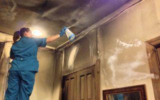 Уборка после пожара – боремся с запахом гари и последствиями