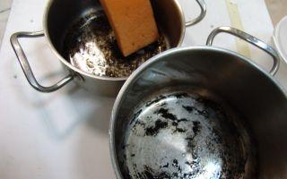 Как быстро отмыть пригоревшую кастрюлю — обзор средств и способов