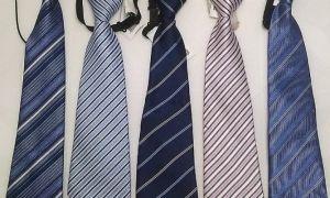 Как завязать детский галстук на резинке — пошаговая инструкция
