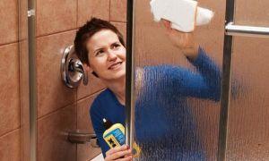 Обзор средств для мытья душевой кабины