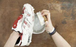 12 рекомендаций по ручной стирке кроссовок