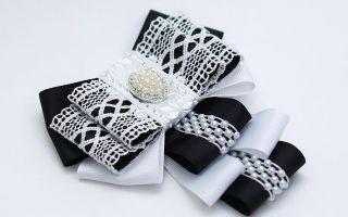 Мастер класс по галстуку канзаши для девочки к школьной форме
