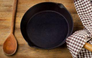 Как за 3 шага подготовить сковороду к первому применению