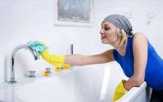 Чем почистить и отмыть ванну от желтизны