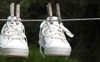 9 правил как быстро высушить кроссовки после стирки и не испортить