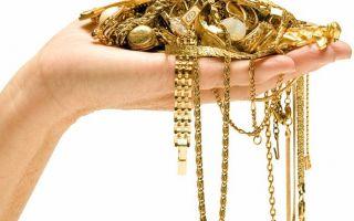 Особенности при чистке золотой цепочки