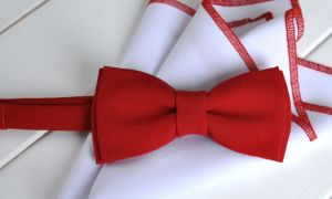 Как сшить галстук бабочку для мальчика своими руками