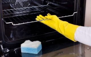 Как почистить духовку от жира и нагара — обзор чистящих средств