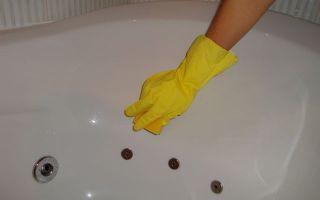 Средство для чистки гидромассажных ванн