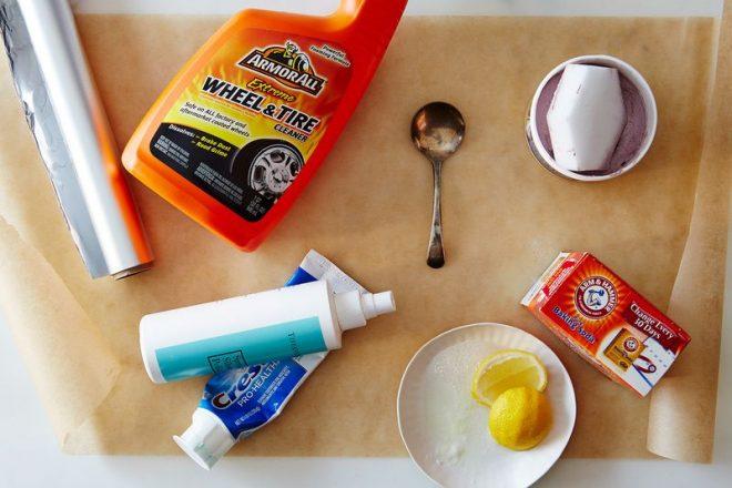 Лучшие способы почистить серебряную ложку. Популярные средства для чистки  серебра f7cf04fd063