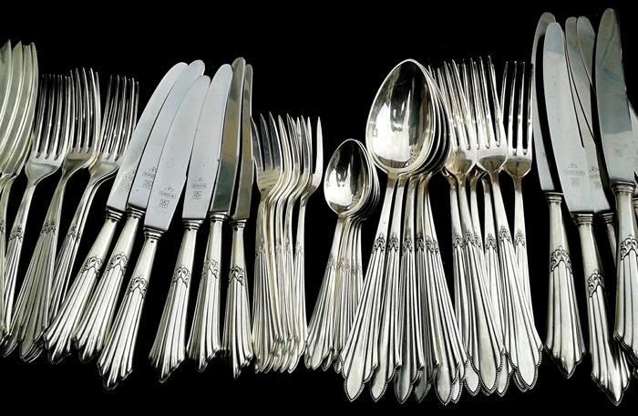 Очищенное серебро
