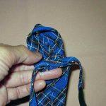 Раскрой галстука