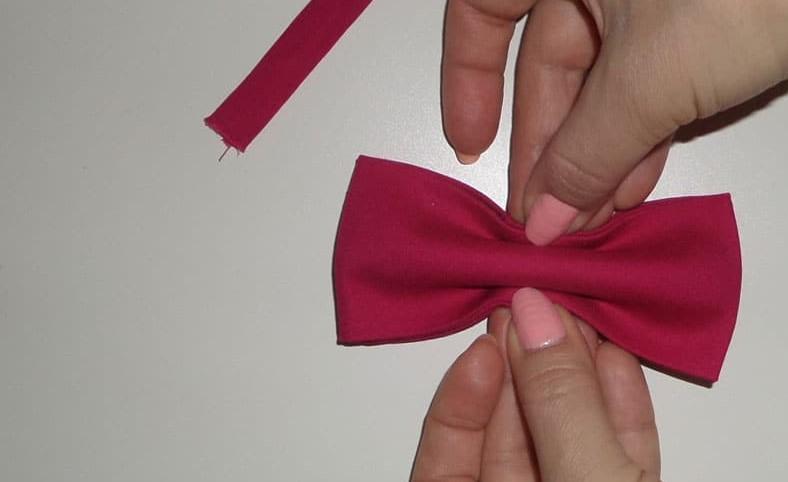Сборка галстука