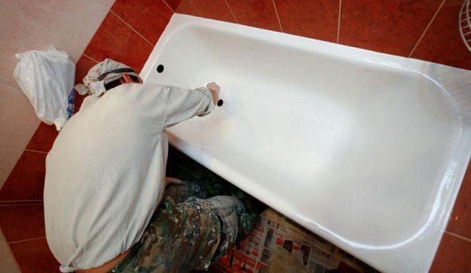 Подготовка ванны