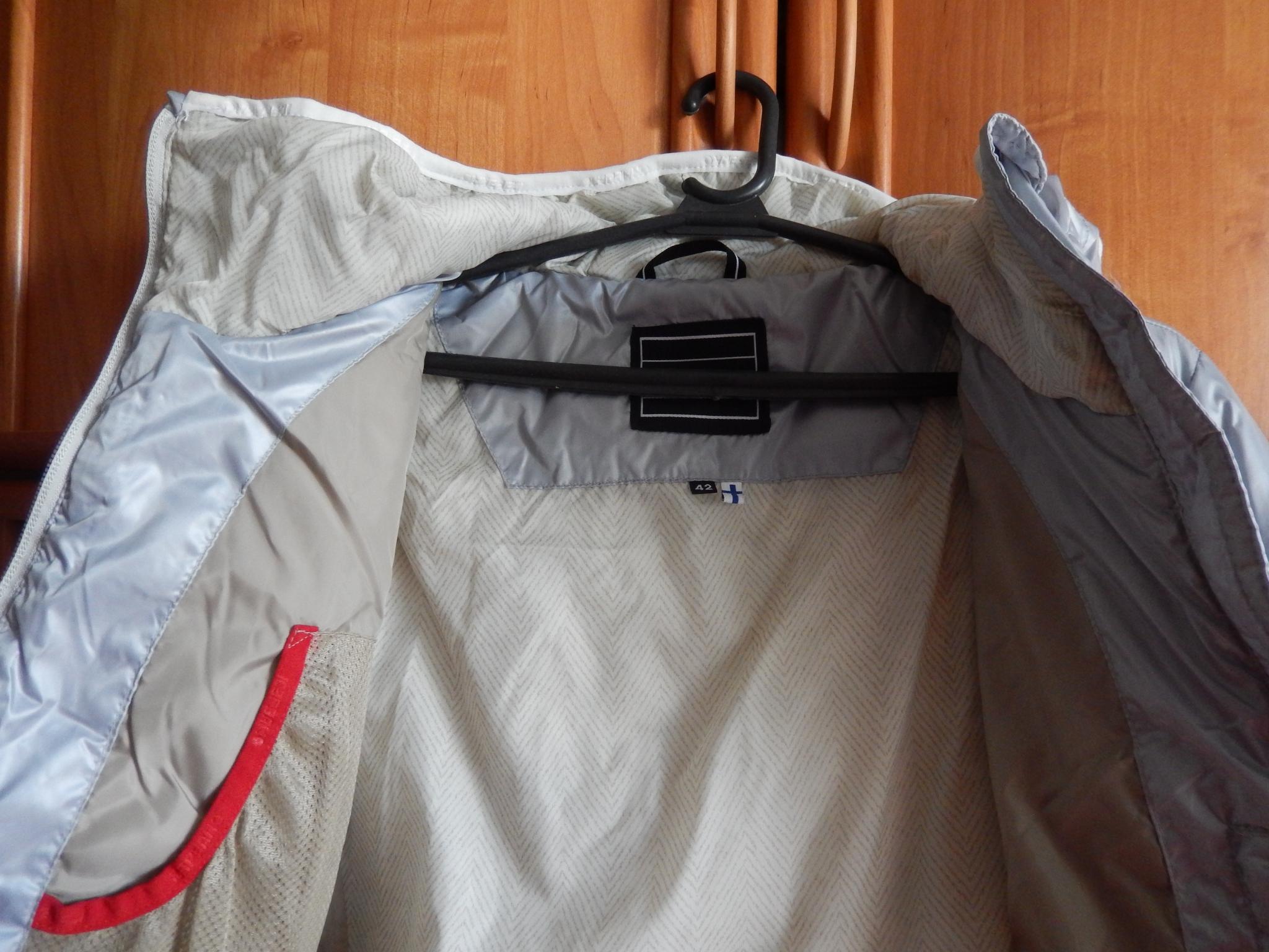 Куртка с изнанки