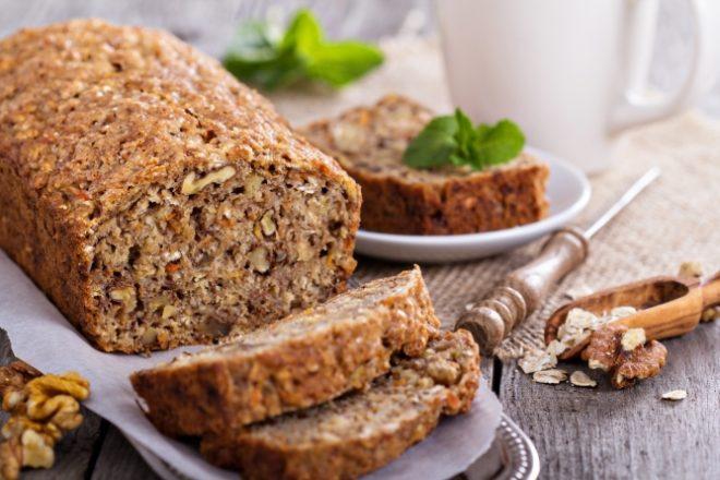 Пирог из черствого хлеба