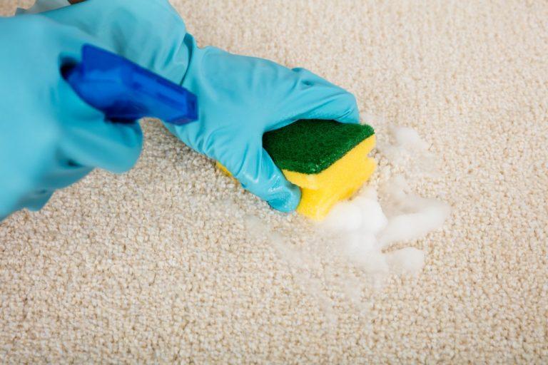 Как отчистить с ковролина пятно от красно фото